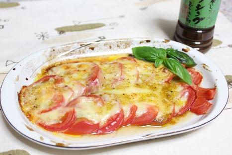 爽風 トマトのチーズ焼き