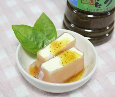 爽風ドレッシング 生ハムチーズ